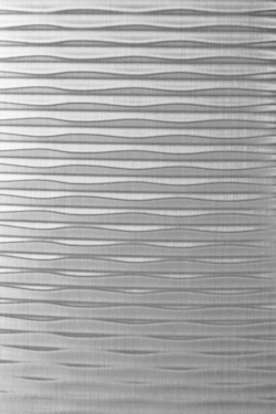Structure-line Motion Two Silver Brushed Matt