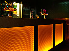 Bar front • clear-PEP • Orange